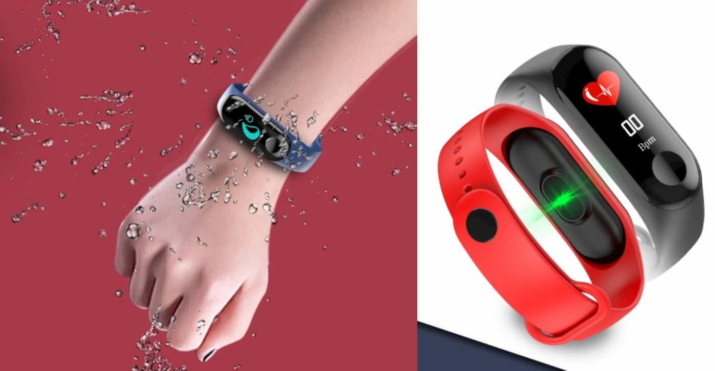 Фітнес браслет М3 від nanogrid: дешевий годинник для бігу з кольоровим дисплеєм за