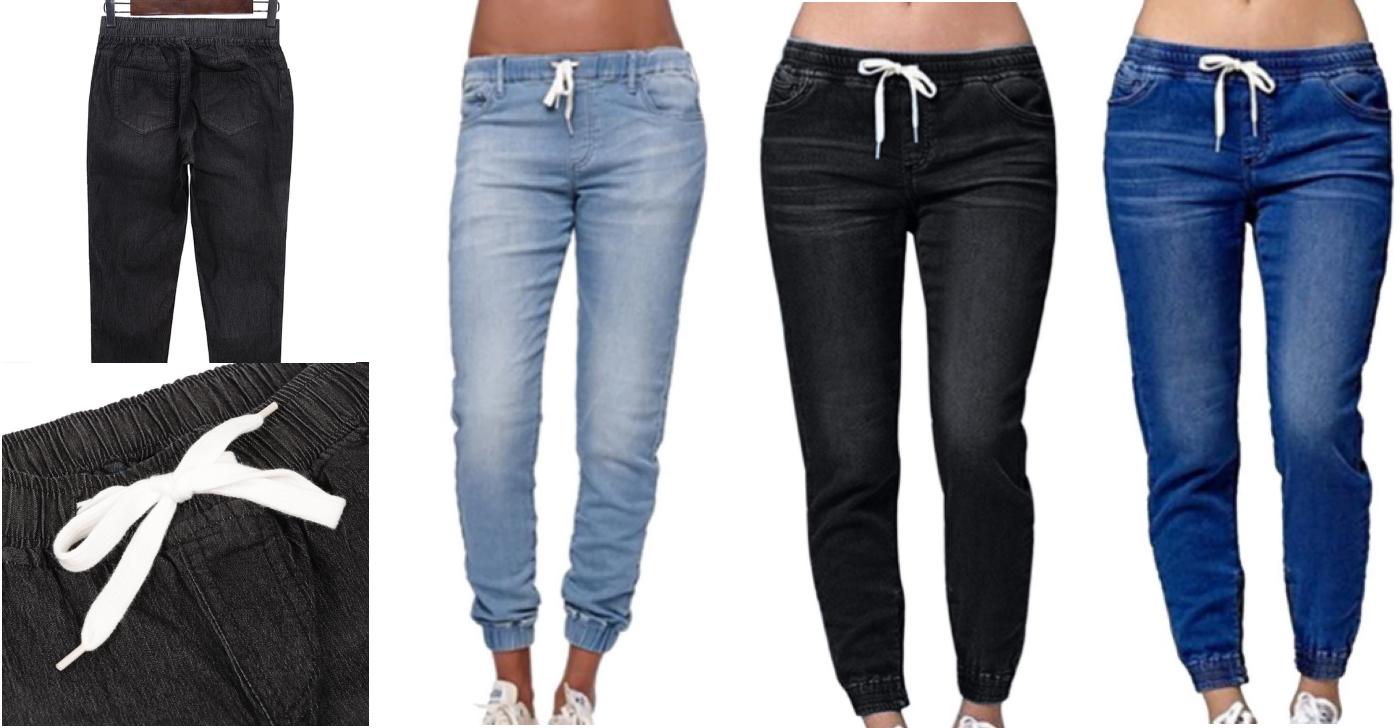 Потерті дешеві жіночі джинси від NIBESSER