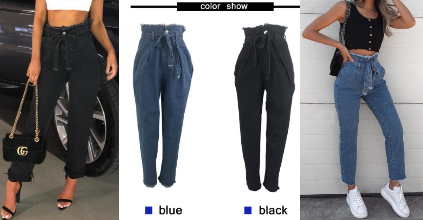 Дешеві жіночі джинси в класичних кольорах від Leo Rosi