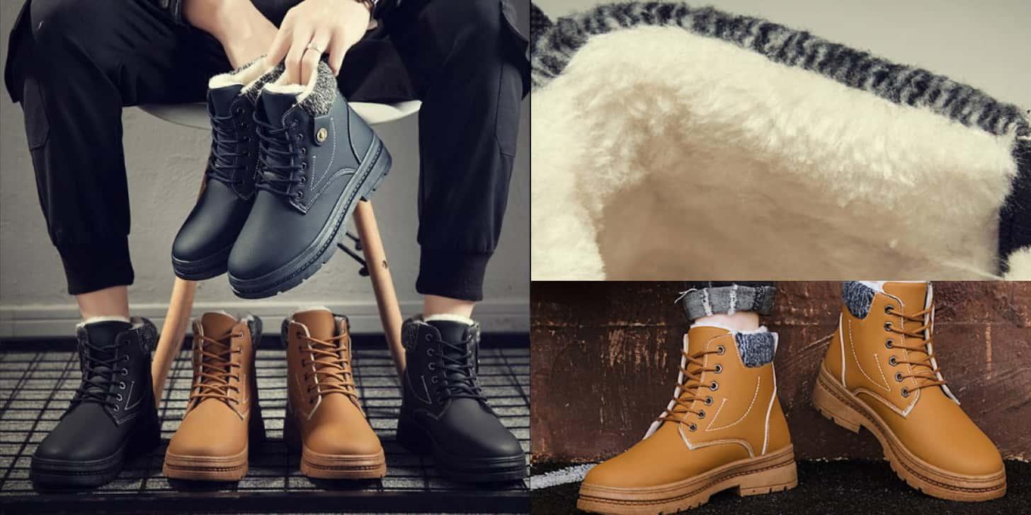 Дешеві зимові черевики чоловічі - класика від UPUPER