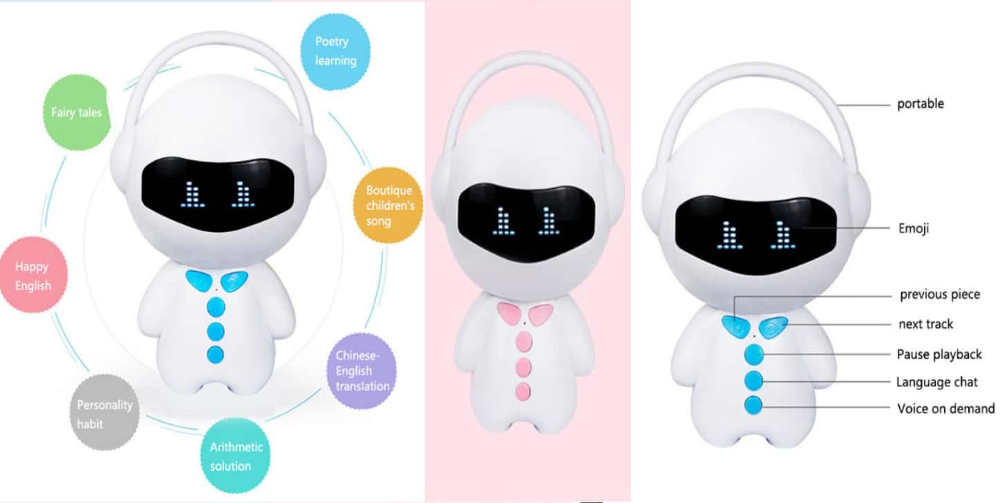 Дешевий іграшковий інтерактивний робот Doolland