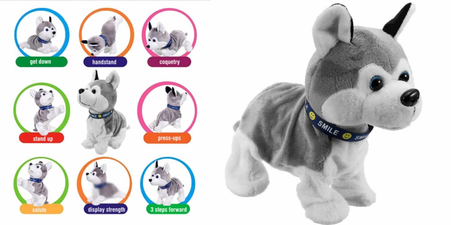 Дешевий іграшковий інтерактивний робот-собака від LBLA