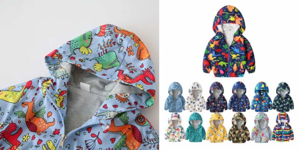 Дешеві дитячі куртки: буяння фарб від Benemaker