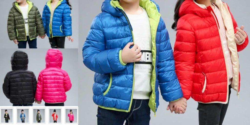 Як у дорослих - модні куртки від XJYIYUANLC