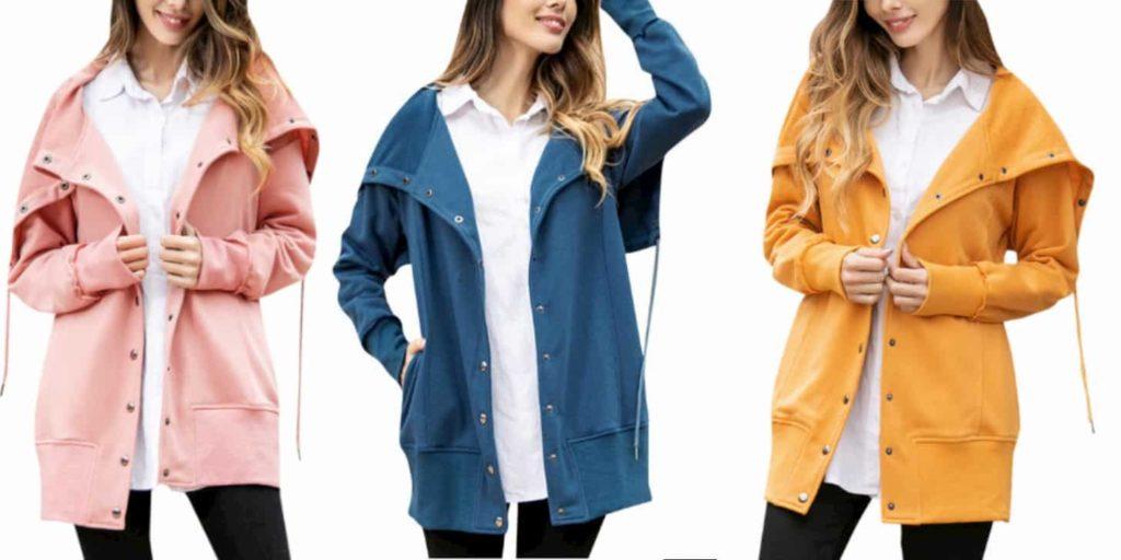 Універсальна дешева жіноча весняна куртка від KLV