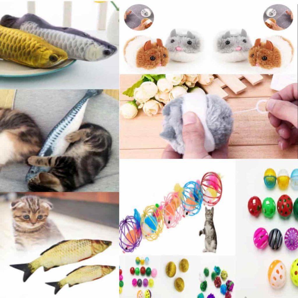 дешевые игрушки для котов