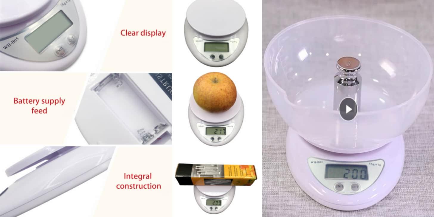 Дешеві кухонні ваги цифрові від Jeason