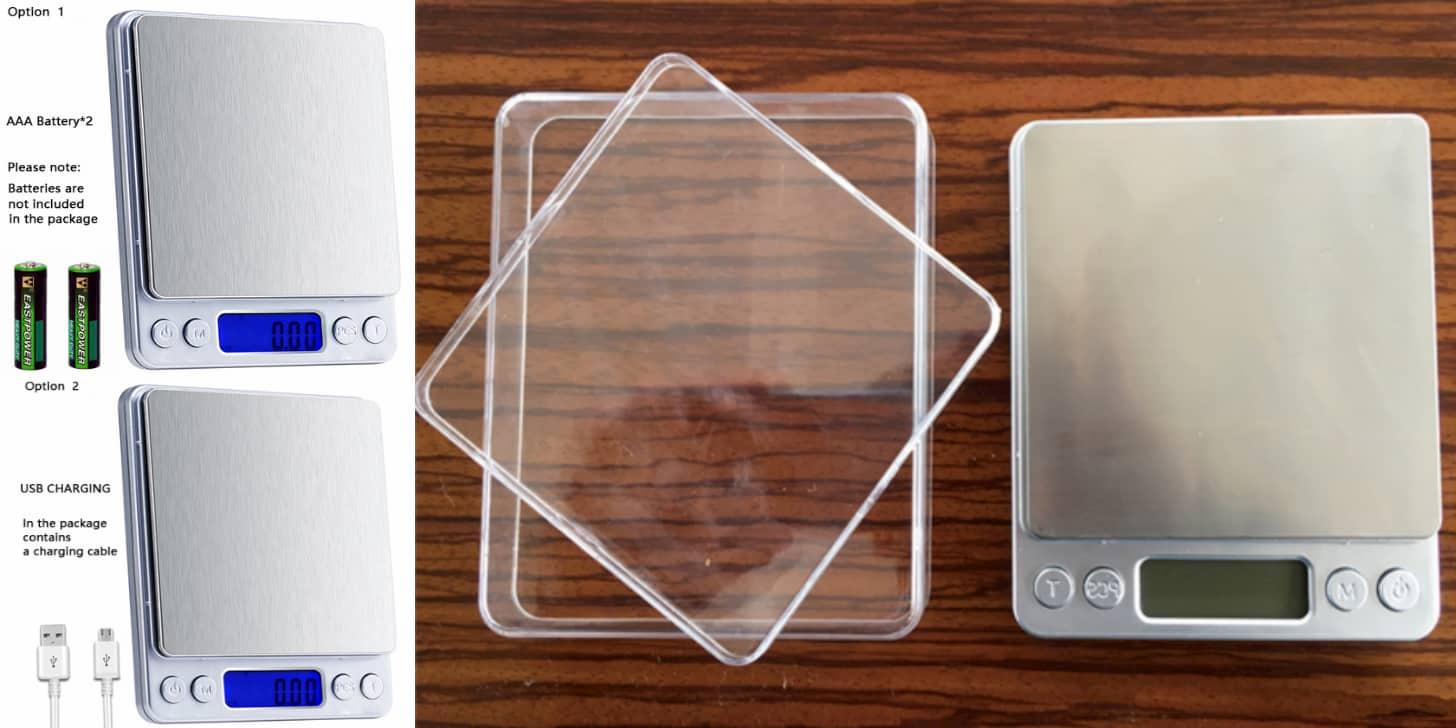 Практична модель ваг для кухні від HIKUUI